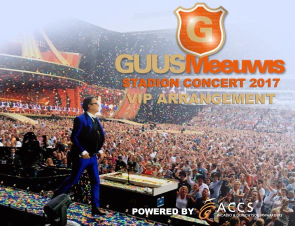 2x VIP-arrangement Guus Meeuwis 2017